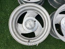 15x8 Eagle Alloy wheels 5x5 5x5.5 F150 Silverado rims Billet Budnik Boyd style