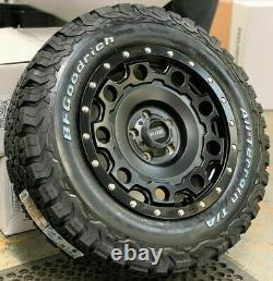 17 Kmc Holeshot Swamper Style Alloy Wheels For Vw Transporter T5 T6 T6.1