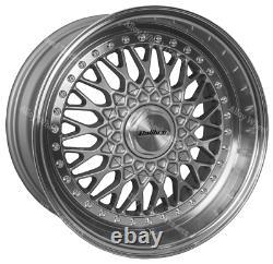 17 Sp Vintage Alloy Wheels Fits BMW 1 + 3 Series E36 E46 E90 E91 E92 Z3 Z4