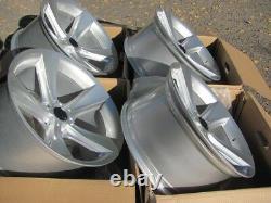17 inch Alloy wheels fit BMW E38 E39 E60 E61 E63 E65 128 style 5x120 New 4 rims