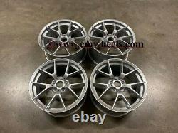 18 763M M4 CS Style Alloy Wheels Quartz Silver BMW F20 F21 F22 F23 1 2 Series