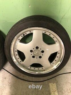 18 AMG Style monoblock Alloy Wheels Tyres W126 W124 VW R129 R230
