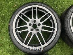 18 Audi TT A4 A3 Le Mans Style Alloy wheels & tyres Fit VW Golf Passat 5x112