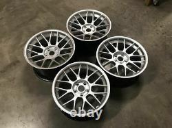 18 BBS RC Style Alloy Wheels DEEP CONCAVE Quartz Silver BMW E90 E92 E93 M3