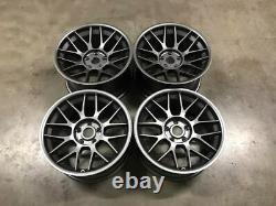 18 BBS RC Style Alloy Wheels MASSIVE CONCAVE Gun Metal BMW E60 E61 M5 E46 M3
