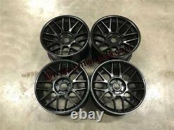 18 BBS RC Style Alloy Wheels MASSIVE CONCAVE Satin Black BMW E60 E61 5 Series
