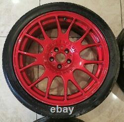 18 Bbs Ch Style Alloy Wheels 5x100 Vw Golf Mk5 R32 Gti Seat Leon Skoda Fabia A1