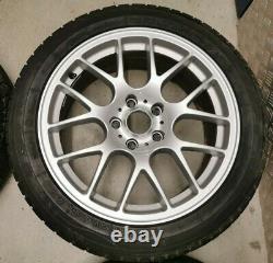 18 Bmw M3 Csl Style Alloy Wheels Silver 359m 1 3 4 5 Series M5 Mv3 313 Msport