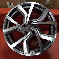 18 Clubsport Style Alloy Wheels Edition 40 Fits Skoda Seat Leon Exeo Altea