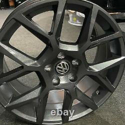 18 Gloss Grey VW Golf Edition35 Style Alloy Wheels Golf Caddy Tiguan + more