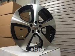 18 Golf Austin GTi Style Alloy Wheels Gloss Black Machined Golf MK5 MK6 MK7
