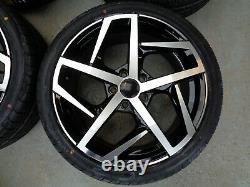 18 Golf Dallas Style Alloy Wheels+tyres fits VW CADDY 2k (x4)