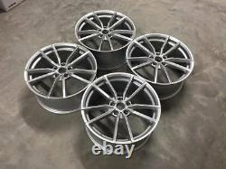 18 Golf R Pretoria Style Alloy Wheels Quartz Silver VW Golf MK5 MK6 MK7 M7.5