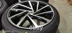 18 Golf Spielberg Style B/M Alloy Wheels+tyres fits VW Caddy 2K (x4)