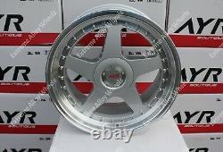 18 Silver Ayr 04 Alloy wheels For Jaguar XJ XJ40 X308 X300 XK8 2006 5X120.65
