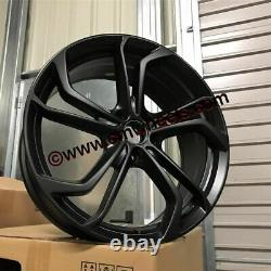 18 VW Golf GTi Reifnitz TCR Style Alloy Wheels Satin Black MK5 MK6 MK7 MK7.5