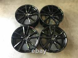 18 VW Golf R Pretoria Style Alloy Wheels Gloss Black Golf MK5 MK6 MK7 MK7.5