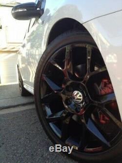 18 Vw Golf Gti Ed35 Style Alloy Wheels 5x112 Mk5 6 7 Gtd Edition Watkins Glen