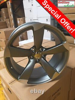 18 alloy wheels Audi a3 a4 a6 Tt Vw golf caddy Seat leon Skoda rotor style