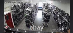 18gloss grey st style Ford Transit/custom/tourneo Alloy Wheels 5000kg Van Tyres