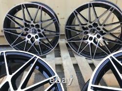 19 666M New Style Alloy Wheels 5x120 fits BMW 5 Series F10 F11 3 Series F30 E90