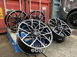19 669M G20 Style Alloy Wheels Gloss Black Pol BMW G30 G31 5 Series new