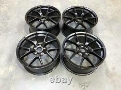 19 763M M3 M4 CS Style Alloy Wheels Satin Black BMW F20 F21 F22 F23 5x120