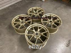 19 763M M3 M4 CS Style Alloy Wheels Satin Gold BMW F20 F21 F22 F23 5x120