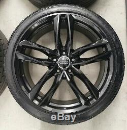 19 Audi Rs6 Style Alloy Wheels 5x112 Rs5 A5 A4 A3 Vw Caddy Golf Mk5 6 7 Leon