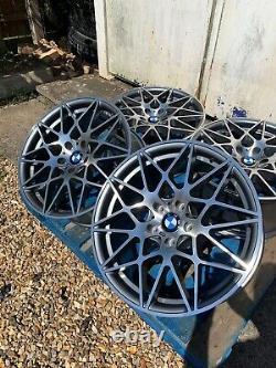19 BMW 666M Competition Style Alloy Wheels Only BMW 3 Series E90 E91 E92 E93