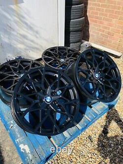 19 BMW 795M Style Satin Black Alloy Wheels Only to fit BMW 4 Series F32 F33 F36