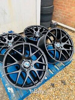 19 BMW DTM CSL Style Alloy Wheels Only Satin Black BMW 3 Series E90 E91 E92 E93