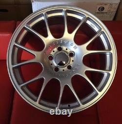 19 Bbs Ch Style Silver Alloy Wheels Fits Vw Golf Passat Caddy Eos