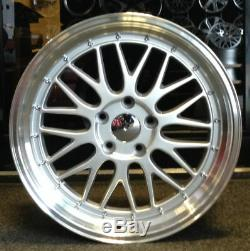 19 Bbs LM Style Alloy Wheels Fits Bmw 5 Series 6 Series 7 Series Silver