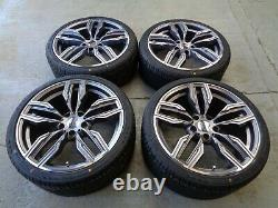 19 Bmw Style Alloy Wheels+tyres To Fit 3 Series 4 Series Bmw Ex Display