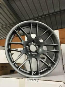 19 CSL DEEP CONCAVE Style Alloy Wheels Gloss Gun Metal BMW E90 E92 E46 M3 Z4M
