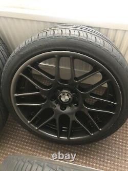 19 CSL Style Alloy Wheels Anphracite Grey BMW E90 E92 E93 M3