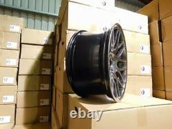 19 CSL Style Alloy Wheels Hyper Black BMW DEEP CONCAVE E46 M3 E90 F10 E92 Z4M