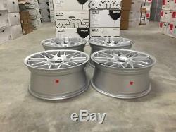 19 CSL Style Alloy Wheels Hyper Silver BMW DEEP CONCAVE E46 M3 E90 F10 E92 Z4M