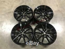 19 Golf R Pretoria Style Alloy Wheels Gloss Black VW Golf MK5 MK6 MK7 Audi A3
