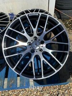 19 Mercedes A45 AMG Style Alloy Wheels Black/Diamond Cut Mercedes A-Class W176