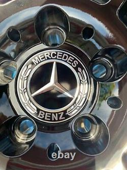 19 Mercedes AMG Turbine Style Alloy Wheels Gloss Black Mercedes E-Class W212