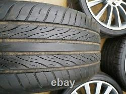 19 Mercedes AMG Turbine Style Alloy Wheels & Tyres to fit Mercedes E-Class