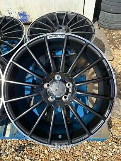 19 Mercedes C63 AMG Style Alloy Wheels Only Black/Pol for Mercedes C-Class W204