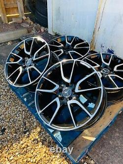 19 Mercedes New C43 AMG Style Alloy Wheels Only B+P for Mercedes C-Class W205