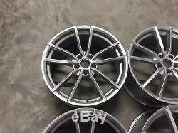 19 New Golf R Pretoria Style Alloy Wheels Hyper Silver VW MK5 MK6 MK7 MK7.5