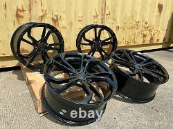 19 VW Golf GTI TCR style Gloss Black alloy wheels Golf Caddy Leon Brand new