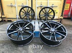 19 VW Golf R Pretoria Style Alloy Wheels Gloss Black Golf MK5 MK6 MK7 MK7.5