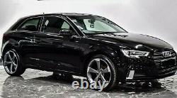 2020 Audi S Line Rotor Rota Arm Style 19 Alloy Wheels Black Edition A3 A4 A5 A6