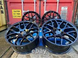 20 666M Competition Style Alloy Wheels CONCAVE DATM BLACK M3 M4 Fitment BMW